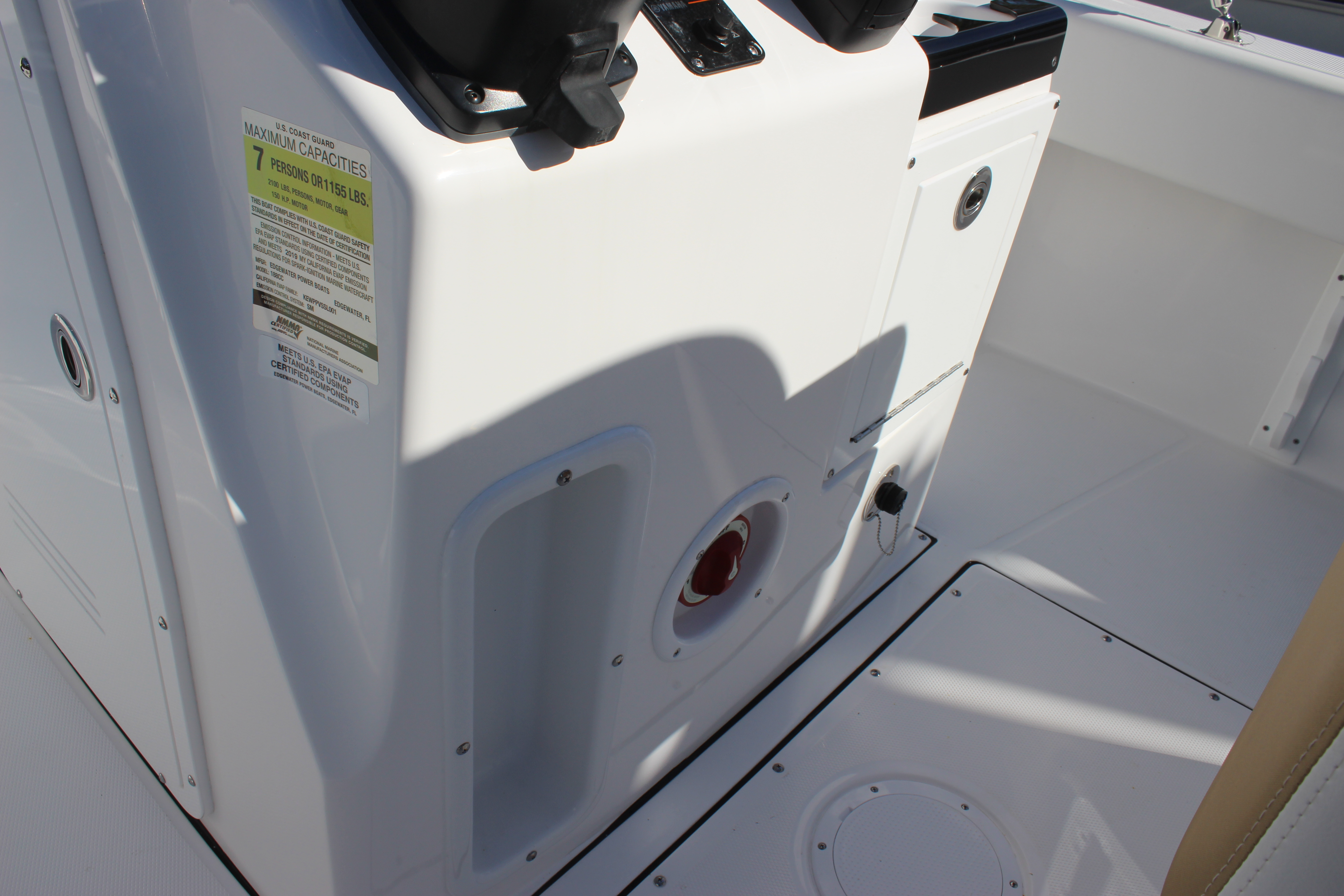 Edgewater Boats Archives Bell Hart Marine Services Boat Parts And Equipment 6 Way Switch Circuit Breaker Panel 188cc Center Console