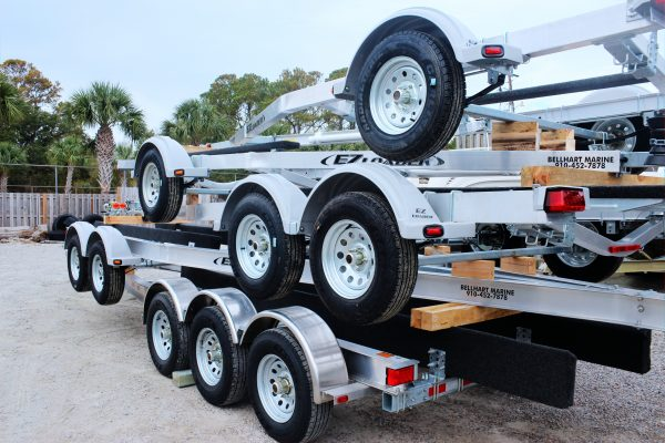 1 EZ LOADER TRAILERS